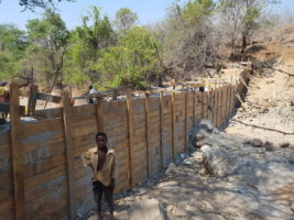 Canchoeira sand dam construction © Excellent Development